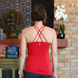 Lululemon Virtuous Tank Top in Red 6